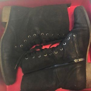 Black Vince Camuto Boot